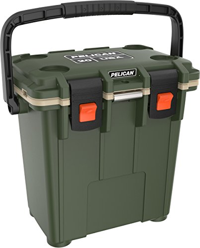 Pelican Elite 20 Quart Cooler (OD Green/Tan)