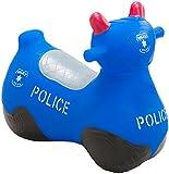 Happy Hopperz Inflatable Police Bike - Blue