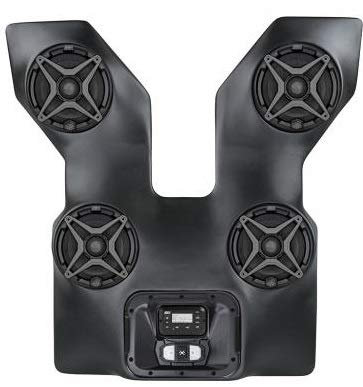 Details about SSV Works WP3-WC2O4A - ARCTIC CAT WILDCAT OVERHEAD BLUETOOTH 4 SPEAKER SYSTEM