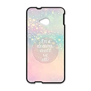 Shining star cute pink blue personalized high quality cell phone case for HTC M7