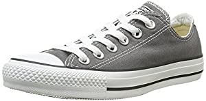 Converse Men's Chuck Taylor All Star Core Ox Charcoal Sneaker Men's 10, Women's 12 Medium