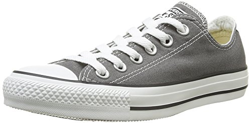 Converse Chuck Taylor All Star Seasonal Ox Women US 8 Gray Sneakers