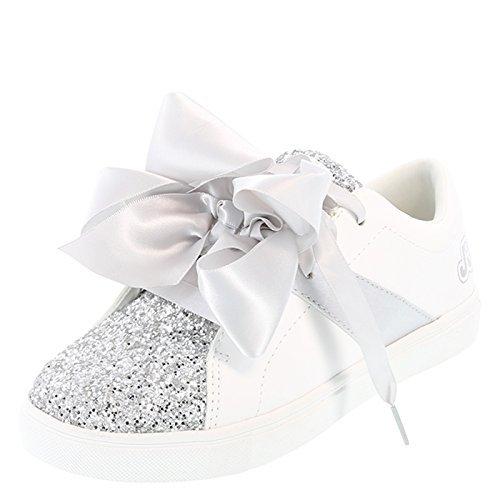Nickelodeon Shoes White Girls' JoJo Court Shoe 13 ()