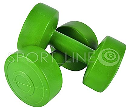 Plástico Pesas Juego de mancuernas 2pieza Aerobic mancuernas mancuernas 2 kg