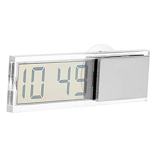 UXOXAS In-car Suction Cup Digital Clock