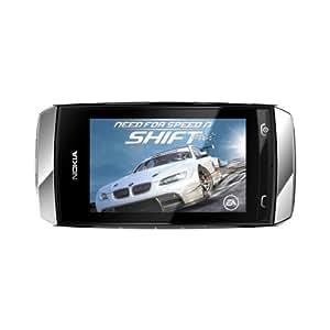 "Nokia Asha 305 - Móvil libre (pantalla táctil de 3"", cámara 2 Mp, procesador de 1 GHz, 10 MB de RAM, dual SIM) color gris"