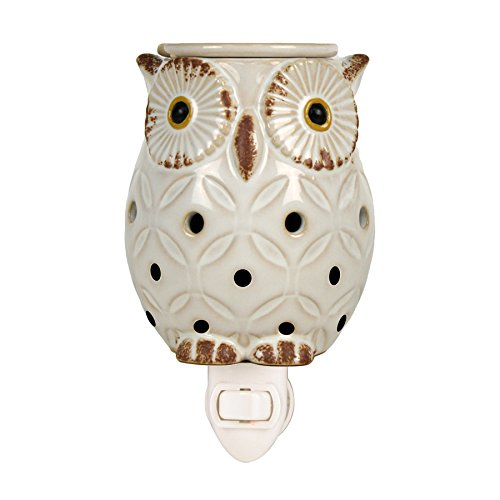 Langley Empire Candle Plug in Warmers, White Owl by Langley Empire Candle