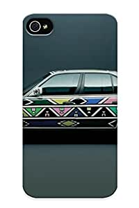 Freshmilk Hot Tpye Bmw Artcars (22) Case Cover For Iphone 4/4s For Christmas Day's Gifts