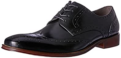 Wild Rhino Men's Redmond Oxfords Shoes, Black, 6 AU (40 EU)