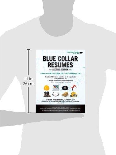 blue collar resumes steve provenzano 9781133702627 amazon com
