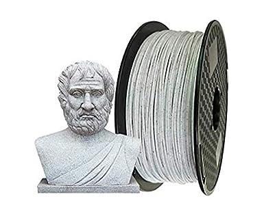 KEHUASHINA Impresora 3D Mármol PLA Filamento 2.85 mm 2.2 LBS (1 KG ...