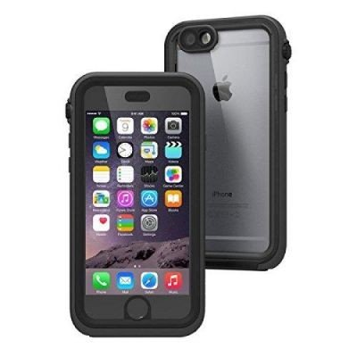 Catalyst Premium Quality Waterproof Shockproof Case for Apple iPhone 6 Plus (Black & Space Gray) with High Touch Sensitivity ID