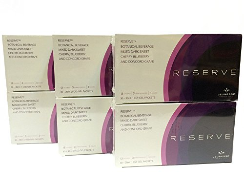 Jeunesse Reserve 6 Boxes Antioxidant Botanical Fruit Blend by Jeunesse Global