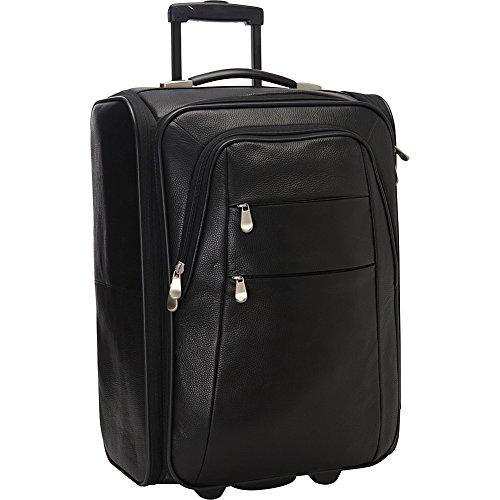 - Bellino Leather Folding Luggage, Black