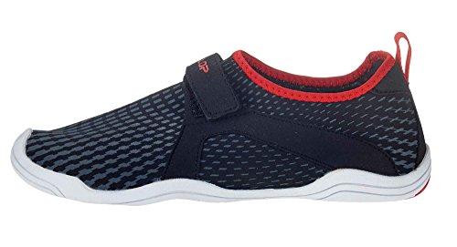 Ballop Aqua Fit Active Velcro Type, Size:37.5 - 38;Color:Typhoon Black