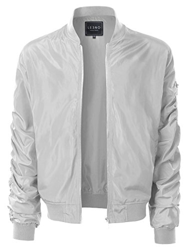 LE3NO Lightweight Hipster Windbreaker Pockets product image
