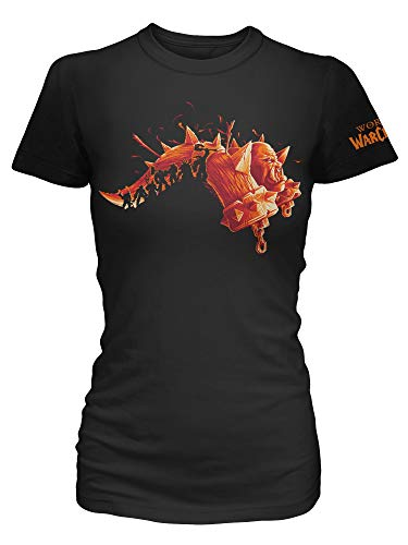 JINX World of Warcraft Warlords Draenor (Expansion Series) Women's Gamer Tee Shirt, Black, X-Large