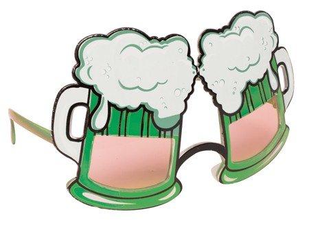 St. Patrick's Day Plastic Beer