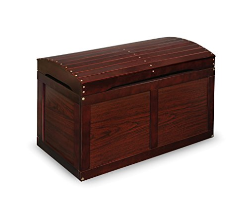 Barrel-Top Toy Chest - Cherry by Badger Basket