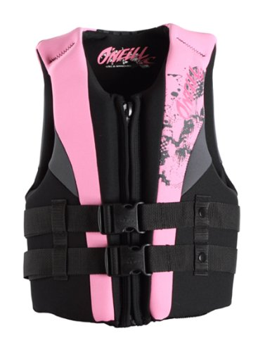 Black Kids Life Vest (O'Neill Youth Reactor USCG Life Vest)