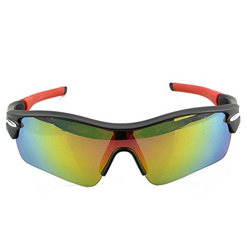 Bicicletas LBY Negro Aire para para Libre Color Deportivas Gafas Hombre Sol Polarizadas Gafas Al Negro de Gafas ffT4xwq8
