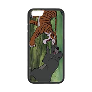 iPhone 6 Plus 5.5 Inch Cell Phone Case Black The Jungle Book Character Baloo Bear Mobxc