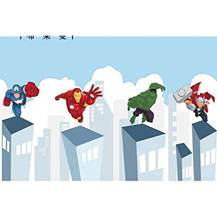 Buy Hitsan Incorporation Cartoon Superman Wallpaper Mural 3d Wall