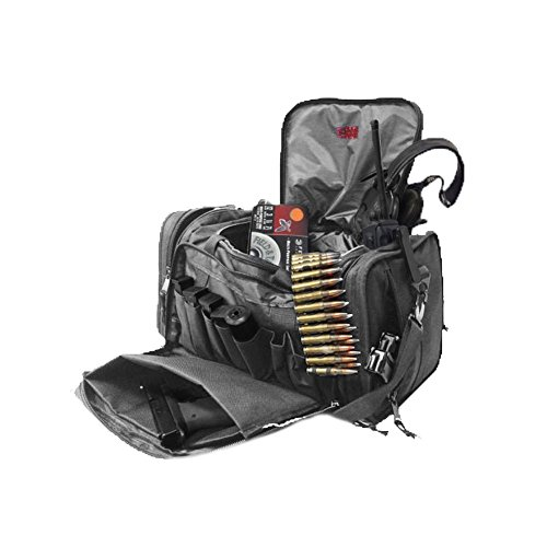 Osage River Tactical Shooting Gun Range Bag (Black, Standard (18 x 13 x 10) Inches) by Osage River (Image #4)
