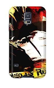 6281698K51881351 Flexible Tpu Back Case Cover For Galaxy S5 - Bleach