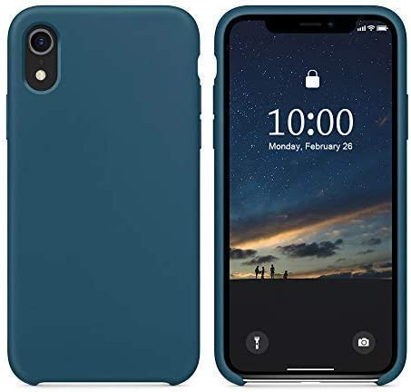 SURPHY Cover iPhone XR Silicone Custodia iPhone XR Silicone Slim