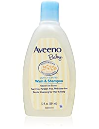 Aveeno Baby Wash & Shampoo For Hair & Body, Tear-Free, 12 Oz. BOBEBE Online Baby Store From New York to Miami and Los Angeles