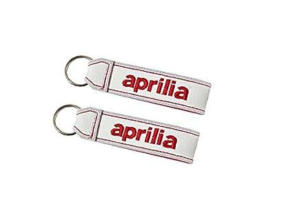 Moto Discovery Aprilia cordón Llavero Doble Cara Blanco (1 ...