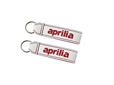 Amazon.com: Aprilia Lanyard Llavero de doble cara blanco (1 ...