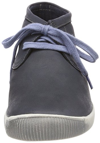 Softinos Indira Washed, Sneaker a Collo Alto Donna Blu (Navy)