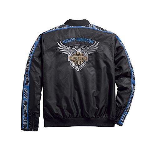 2xl Jacket Harley Anniversary davidson® Bomber 115th qZU7UX