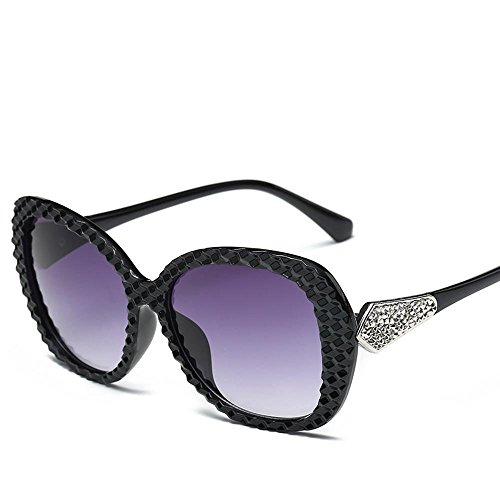 Aoligei Femmes lunettes de soleil mode Retro lunettes de beauté star lunettes de soleil style A