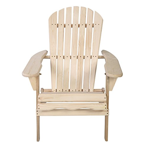 Heaven Tvcz Outdoor Foldable Wood Porch Adirondack Chair Patio Deck Garden Furniture for relaxing extreme comfort by Heaven Tvcz