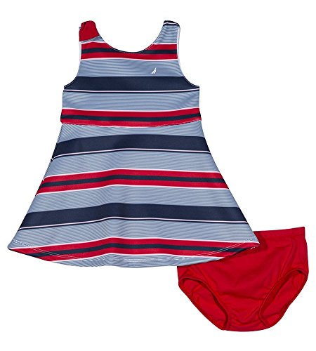 Nautica Girls Patterned Sleeveless Dress product image