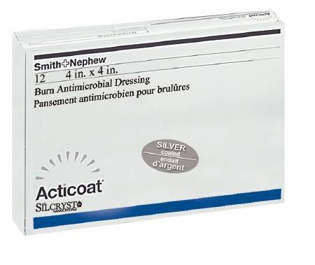 Acticoat Burn Dressing (4''x4'') (by the Each)