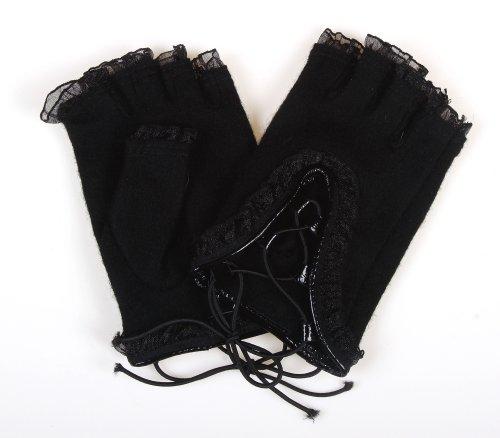 カシミヤタッチ指なし手袋 MST1116