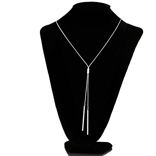 Shaped Fashion Jewelry (Tassel Vintage Style Long Multitier Womens Necklace Chain Pendant Jewelry (Long - 32