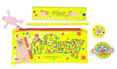 Toyland Mr Blobby Pencil Case Set Licencsed