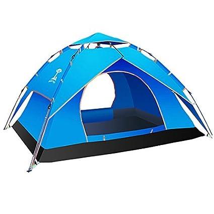 DealMux MIANBAOSHU Tent automática Autorizado   Fácil de instalar, 2-3 Pessoa duplo uso