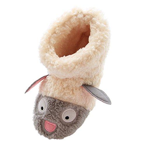 Caramella Bubble Fuzzy Lamb Slippers product image