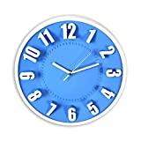 Silent 3D Non-Ticking Wall Clock   Decorative Round Wall Clock   Easy to