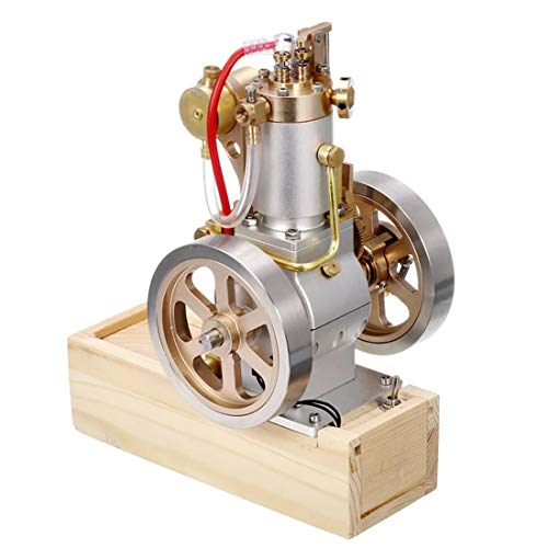 PeleusTech PeleusTech Metal Vertical Hit and Miss Complete Engine Model Gas Stirling Engine with Hand Start Device for…