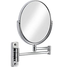 Better Living Bath Boutique Vantage Mirror, Chrome, With Extendible Wall Mount