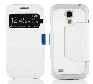 Cadorabo - Funda Book Style de Cuero Sintético en Diseño View para > Samsung Galaxy S4
