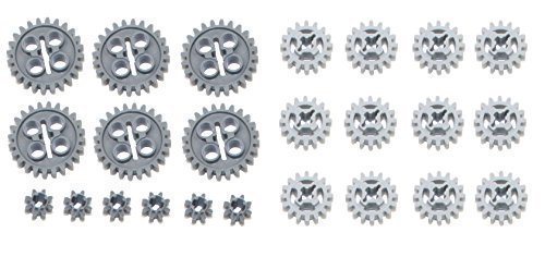 LEGO 24pc Technic Gear SET (Mindstorms nxt robot rcx lot pack hobby NEW) -