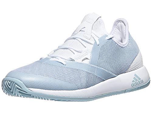 adidas Women's Adizero Defiant Bounce, ash Grey/White, 9.5 M US